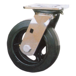 Molded Rubber on Steel Casters